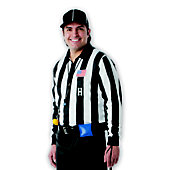"Dalco Collegiate 2"" Striped Football Long Sleeve Official's"