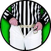 Dalco Football Official's Hidden Tailor Belt