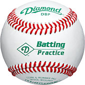 Diamond Collegiate Practice Baseball (Dozen)