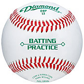 Diamond Sports Batting Practice Low-Seam Baseball (Dozen)