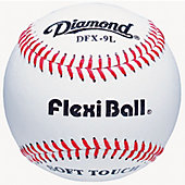 Diamond DFX FlexiBall White Practice Baseballs (Dozen)