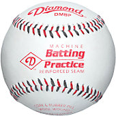 Diamond Leather Pitching Machine Baseball (Dozen)