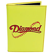 Diamond Sports Baseball/Softball Notebook (Yellow)
