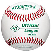 Diamond Sports DOL-1 Official League NFHS Baseball (One Dozen)
