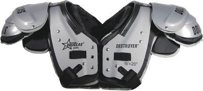 Douglas Adult QB/DB/WR Destroyer Football Shoulder Pad DPQBM
