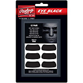 Rawlings Eye Black Stickers (12 Pack)