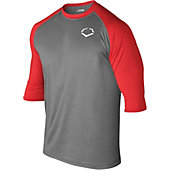 EvoShield 3/4-Sleeve Captain's Logo Adult Performance Shirt