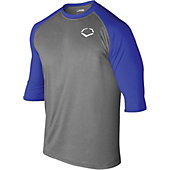EvoShield 3/4-Sleeve Captain's Logo Youth Performance Shirt