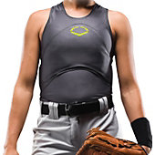 EVOSHIELD WMNS FP RACERBK CHEST/BK GUARD 12U