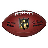 "Wilson Official NFL ""Duke"" Leather Game Football"