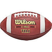 Wilson TDJ Leather Junior Football