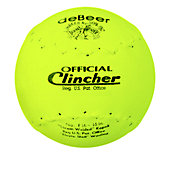 Worth deBeer Official Clincher Yellow Softball (Dozen)