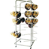 VPI Free Standing Football Helmet Rack