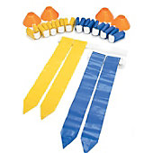 SKLZ 10 Man Flag Football Deluxe Set