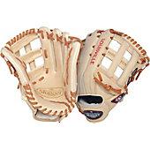 "Louisville Slugger Pro Flare Series Cream 12.75"" Baseball Gl"