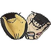 "Louisville Slugger Pro Flare Cream 33.5"" Catcher's Mitt"