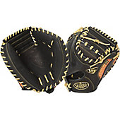 "LVS Omaha Series 5 Orange 33.5"" Catcher's Mitt"