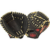 "LVS Omaha Series 5 Scarlet 33.5"" Baseball Catcher's Mitt"