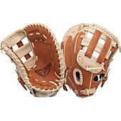 "Louisville Slugger Pro Flare Caramel and Cream 13"" Firstbase Mitt"