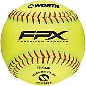 "Worth 12"" FPEX Fastpitch Practice Softball (Dozen)"