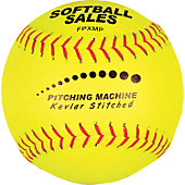 SOFTBALL SALES MACHINE PITCH LEATHER BALL 10H