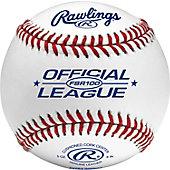 Rawlings FSR100 Flat Seam Collegiate Baseball (Dozen)