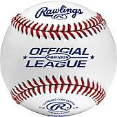 Rawlings FSR100X Flat Seam Blem Practice Baseball (Dozen)