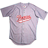 Rawlings Adult Pinstripe Full Button Jersey