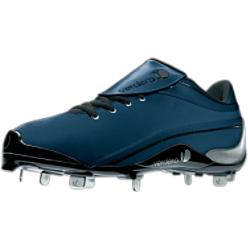 Verdero Men's Royal/Silver Low Metal Baseball Cleats