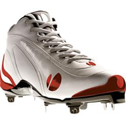 Verdero Men's Mid Metal II Baseball Cleats