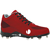 Verdero Men's Classic II Mid Metal Baseball Cleats