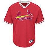 Majestic Men's Cool Base V-Neck MLB Jersey