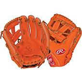 "Rawlings Limited Edition GG Gamer XLE Series Orange 11.5"" Baseball Glove"