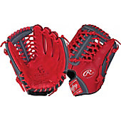 "Rawlings Limited Edition GG Gamer XLE Series Scarlet/Gray 11.75"" Baseball Glove"