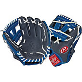 "Rawlings Limited Edition GG Gamer XLE Series Gray/Royal 11"" Baseball Glove"