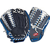 "Rawlings Limited Edition GG Gamer XLE Series Gray/Royal 12.75"" Baseball Glove"