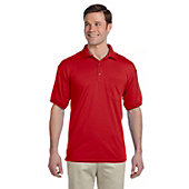 Broder Bros. Men's DryBlend 50/50 Jersey Polo with Pocket