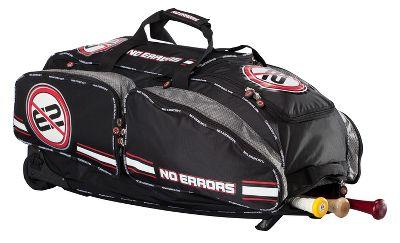 gearguard no errors black wheeled catchers bag baseball