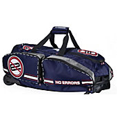 Gearguard No Errors Navy Wheeled Catcher's Bag