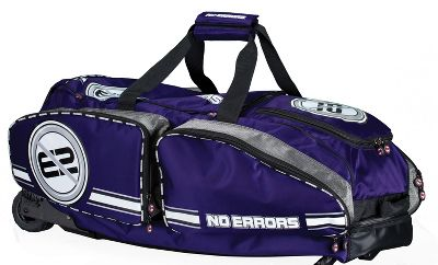 Gearguard No Errors Purple Wheeled Catchers Bag Softball