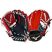 "Mizuno Global Elite Navy/Red 11.25"" Baseball Glove"