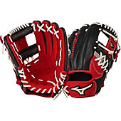 "Mizuno Global Elite Red/Black 11.5"" Baseball Glove"
