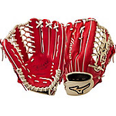 "Mizuno Global Elite Red/Cream 12.75"" Baseball Glove"