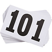 Gill Competitor Numbers (100 Pack)