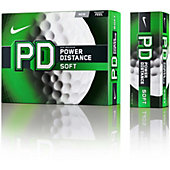 Nike Power Distance Soft Golf Balls (Dozen)