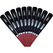 Brett Bros. 110 Composite Wood Baseball Bat (10-Pack)