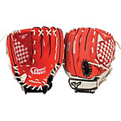 "Mizuno Youth Prospect 11.5"" Baseball Glove - Red"