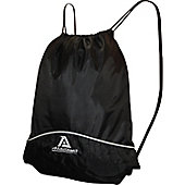 AKADEMA BLACK DRAWSTRING BAG