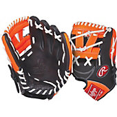 "Rawlings GG Gamer XLE Neon Series Orange 11.25"" Baseball Glo"