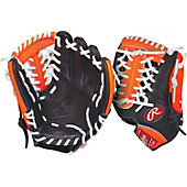 "Rawlings GG Gamer XLE Neon Series Orange 11.5"" Baseball Glove"